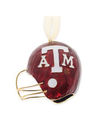 Texas A&M Kitty Keller Football Helmet Ornament
