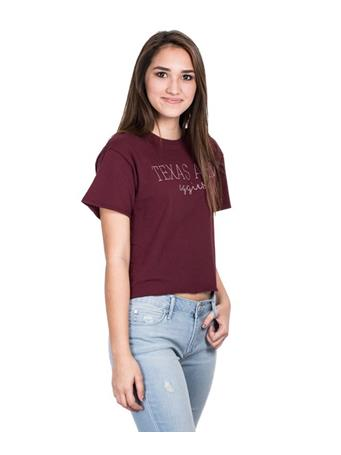 Texas A&M Womens Clothesline Cotton T-Shirt