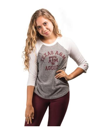 Texas A&M League Women's Intramural Baseball T-Shirt