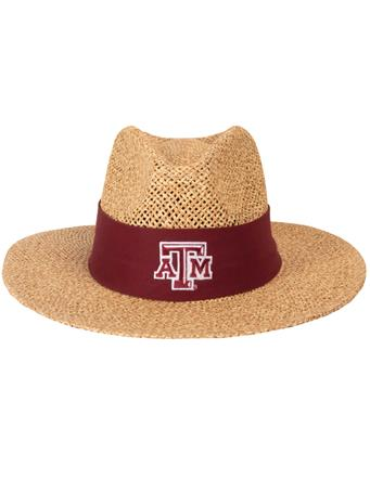 Texas A&M Aggie Safari Straw Angler Hat