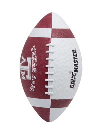 Texas A&M Junior Size Rubber Football