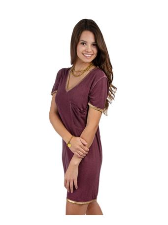 Maroon Let it Go Dress