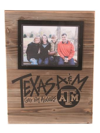 Texas A&M Magnolia Lane Real Wood Frame