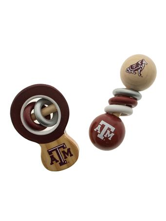 Texas A&M Aggie Baby Rattle