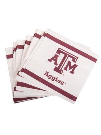 Texas A&M Aggie Luncheon Napkin 20ct