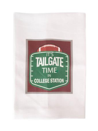Tailgate Time In College Station Towel