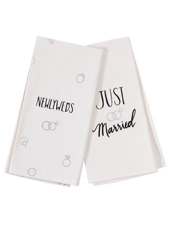 Just Married/Newlyweds Tea Towels