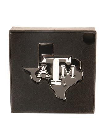 Texas A&M Lone Star Auto Chrome Emblem
