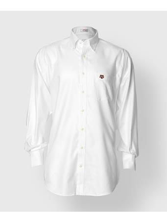 Peter Millar Texas A&M Nanoluxe Oxford Button Down Shirt