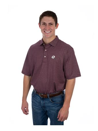 Peter Millar Texas A&M Vintage Helmet Polo