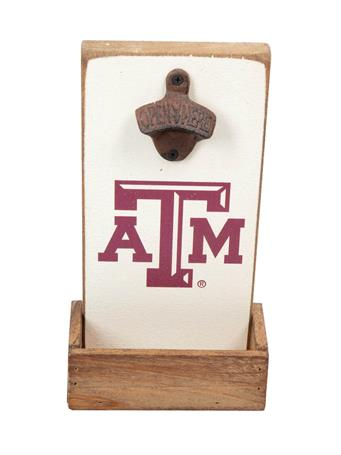 Texas A&M Aggie Rustic Bottle Opener