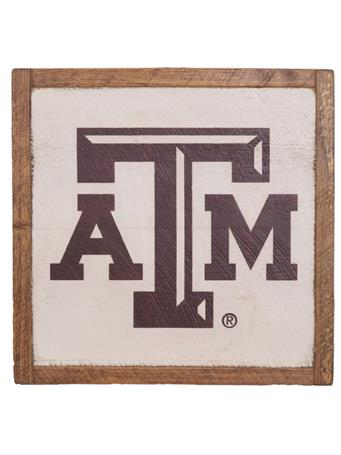 Texas A&M Aggie Rustic Wall Art