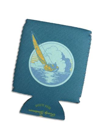 Sail Away Beer Sleeve Koozie