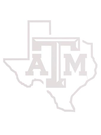 Texas A&M Aggie Bevel Lone Star Decal