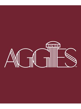 Aggies Lines Decal