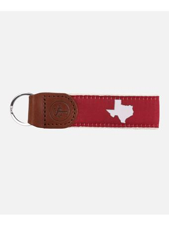 State Traditions Texas Maroon Key Fob