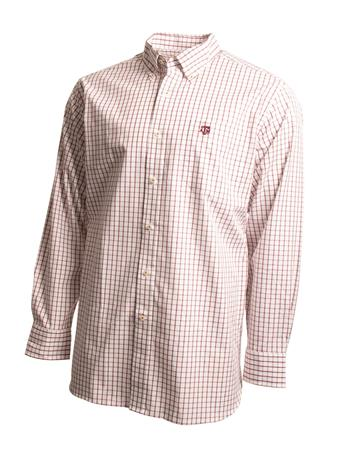 Southern Tide Texas A&M Game Day Tattersall Button Down Shirt