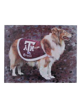 Texas A&M Reveille 16x20 Canvas