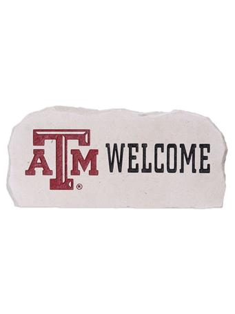 Texas A&M Engraved Welcome Stone