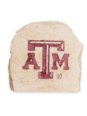 Texas A&M 7 X 7 Engraved Decorative Stone