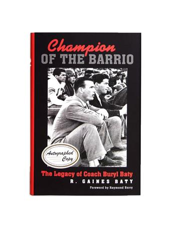 Champion Of The Barrio Autographed Copy
