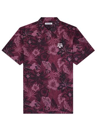 Texas A&M Tommy Bahama Fuego Button Down