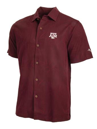 Texas A&M Tommy Bahama Luau Button Down