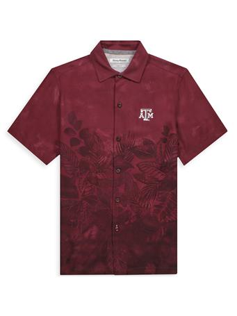 Texas A&M Tommy Bahama Floral Buttondown
