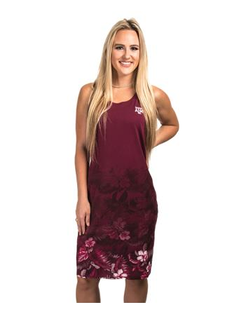 Texas A&M Tommy Bahama Floral Dress