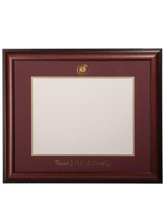 University Frames Texas A&M Satin Medallion Diploma Frame