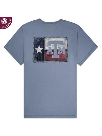 Texas A&M Aggie Painted Wood T-Shirt