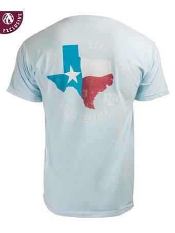 Texas A&M Aggie Circle of Pride Flag T-Shirt
