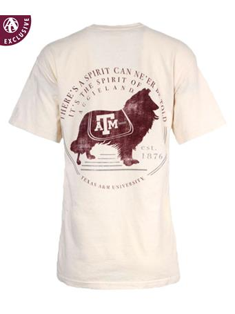 Texas A&M Miss Reveille Spirit T-Shirt