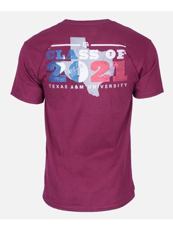 Texas A&M Aggie Class of 2021 T-Shirt