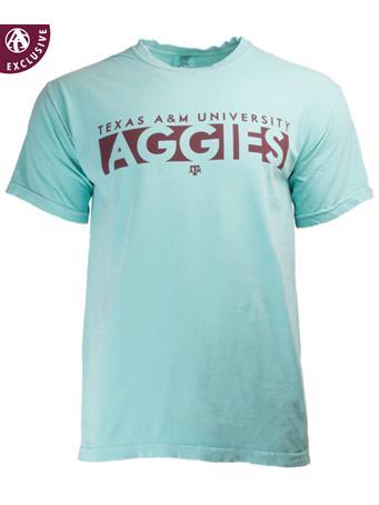 Texas A&M Basic Blocked Aggies T-Shirt