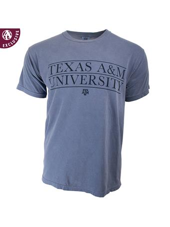 Texas A&M Lined Up Block Letters T-Shirt