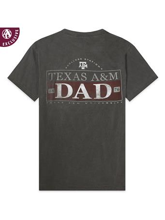 Texas A&M Aggie 1876 Dad T-Shirt