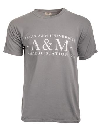 Texas A&M Aggie Basic Grey T-Shirt