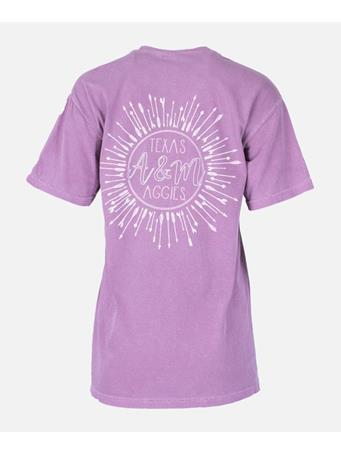 Texas A&M Bullseye Arrow Design T-Shirt