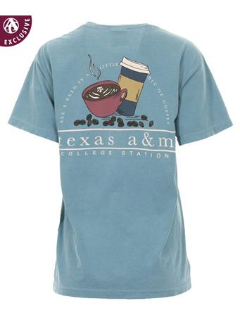 Texas A&M Bit of Coffee Bean T-Shirt