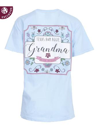 Texas A&M Grandma Raised 'Em Right T-Shirt