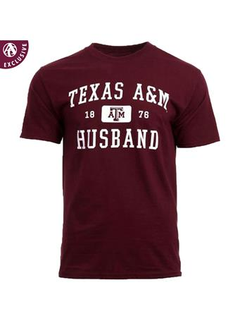 Texas A&M Aggie Husband T-Shirt