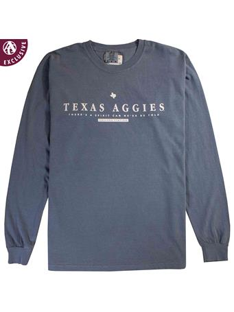 Texas A&M Spirit Blue Long Sleeve T-Shirt