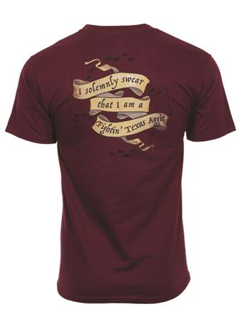 Texas A&M Aggie Solemnly Swear T-Shirt