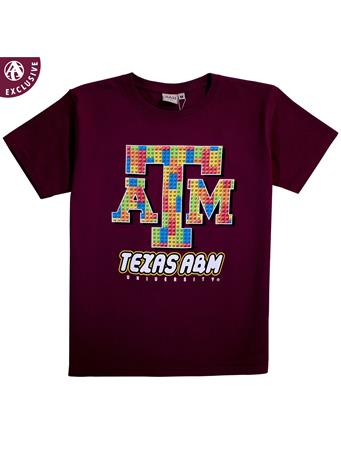 Texas A&M Two Great Things Youth Short Sleeve T-Shirt