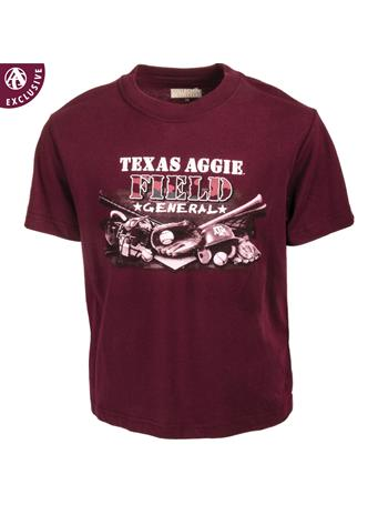 Texas A&M Aggie Field General Youth T-Shirt