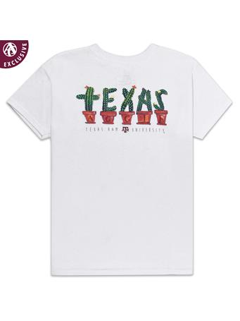 Texas A&M Aggie Youth Always on Point Cactus T-Shirt