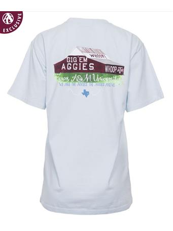 Texas A&M Aggie Iconic Barn T-Shirt