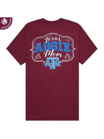 Texas A&M Mom Drawn In Chalk T-Shirt