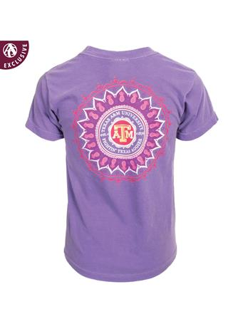 Texas A&M Youth Pineapple Henna T-Shirt